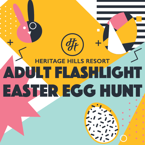 Adult Flashlight Easter Egg Hunt